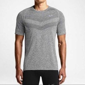 NWT Men's Nike Dri-FIT Knit- Dark Grey